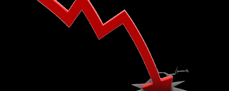 International Business Entry Failures - profit line going down